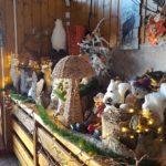La décoration en Hiver au Restaurant Le Farinaud